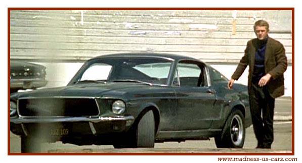Ford mustang fastback 1967 dans le film BULLIT